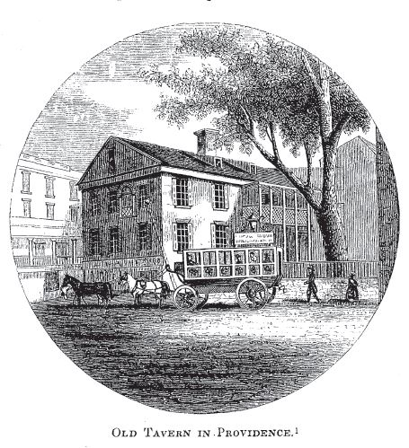 old tavern in Providence
