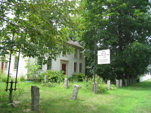 The Townsend Historical Society, 2012.  Photo by Diane Boumenot