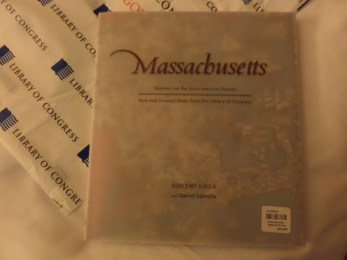 My purchase at the gift shop.   Massachusetts: Mapping the Bay State Through History