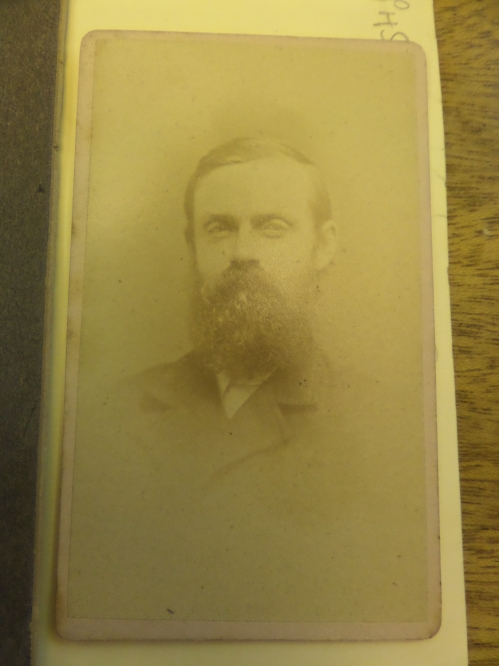 James Arnold, in early middle age perhaps, looking speculative and a little untidy. The well-known poverty of his later years may well have factored into all stages of his life.