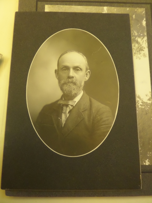 James Arnold, looking somewhat business-like, probably at the heyday of his publishing career. 3-59,