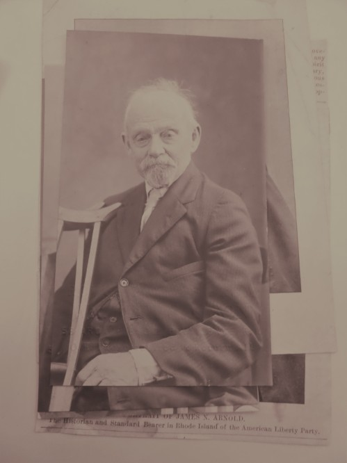 James Arnold in 1925, two years before his death. 3-59,