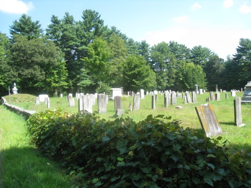 The Sheldonville Cemetery on Burnt Swamp Road, Wrentham, Mass. Marcy lived near there, but was not likely to be buried there. Her gravesite is unknown.