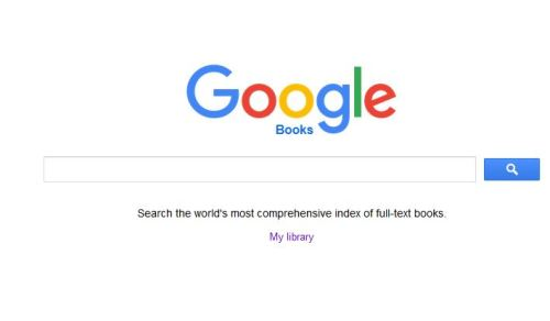 The Google Books screen also reminds you that you can build a virtual library of books right in your Google account.