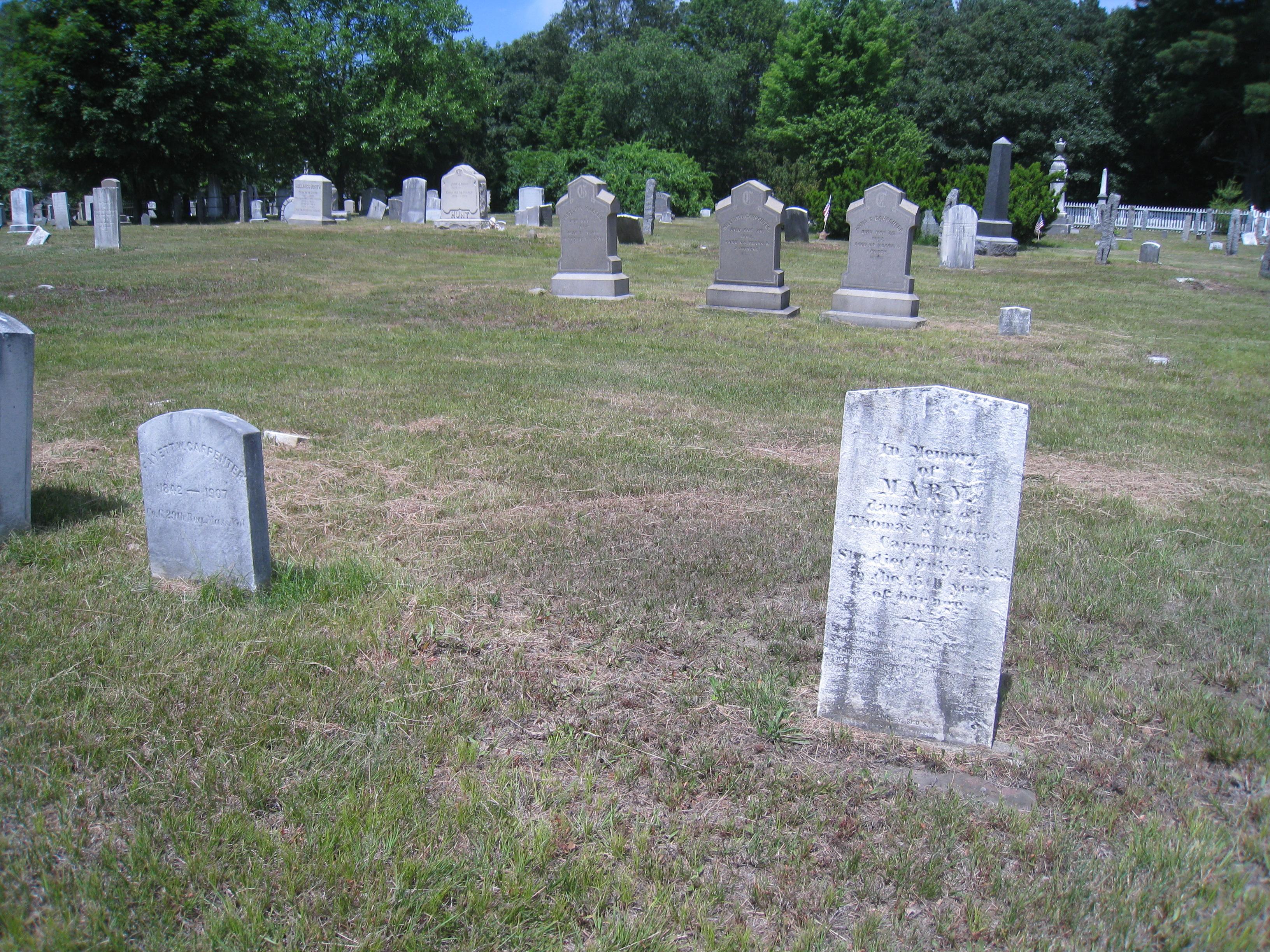 Ballou Cemetery, Cumberland.
