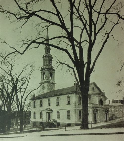First Baptist Church in America, Providence