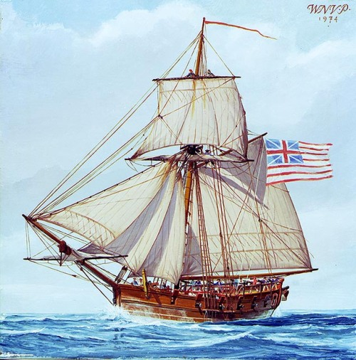 By U.S. Naval Historical Center Photograph. Painting in oils by W. Nowland Van Powell - Naval Historical Center Photo # NH 85201-KN (color), CC0, https://commons.wikimedia.org/w/index.php?curid=9103147