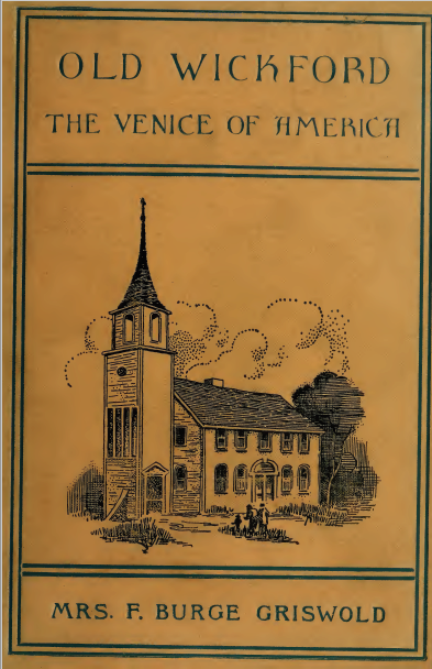 They just don't make book titles like they used to. Wickford is a town in North Kingstown.
